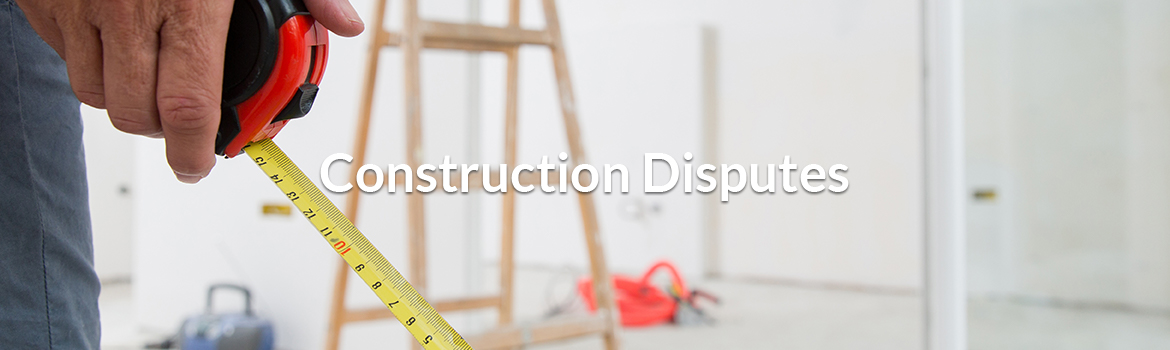 construction disputes
